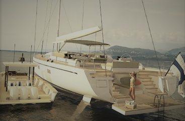 Компактная и практичная 13-метровая моторная яхта Swan Shadow