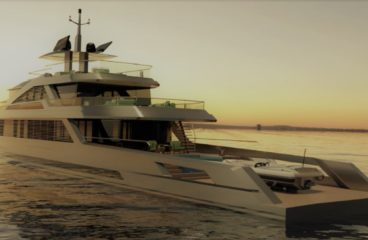 Моторная яхта Isola от известной студии дизайна Bannenberg & Rowell